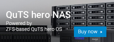 QuTS hero NAS-Powered by ZFS-based QuTS hero OS